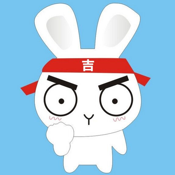 可爱微信兔兔头像